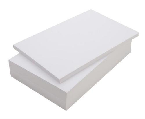 resma 100 hojas a4 90grs papel ilustración mate o brillante