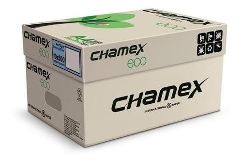 resma chamex eco reciclaje carta x 500hojas