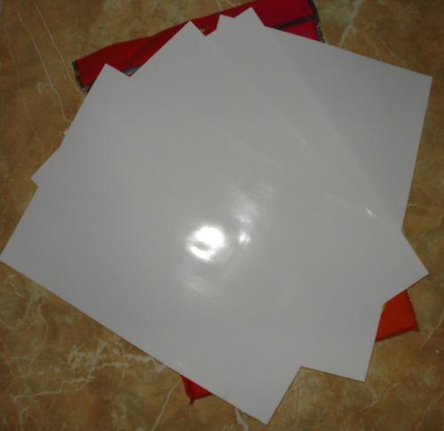*resma de 100 hojas papel fotográfico a4 paquete economico *