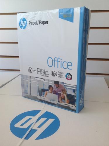 resma de hojas de papel hp tamaño carta