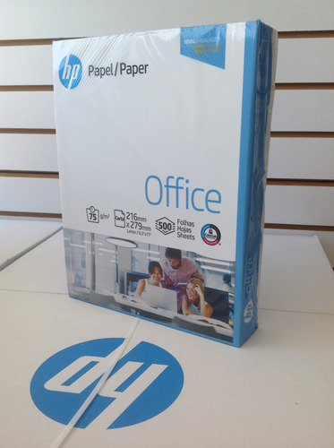 resma o caja de papel tamaño carta hp 500 hojas
