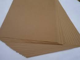 resma papel kraft de 250 gramos de 100 hojas tamaño oficio