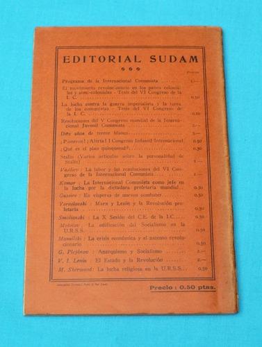 resoluciones presidium ampliado i. c. partido comunista 1930