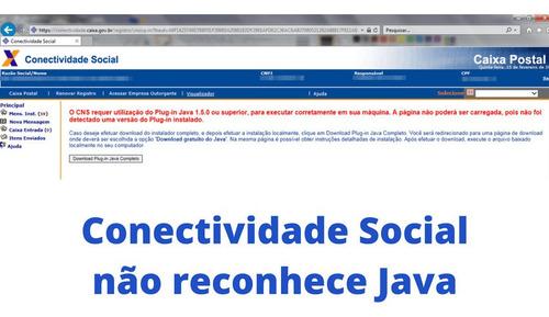 resolver problemas com site conectividade social plug-in jv