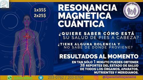 resonancia magnetica cuantica promcion