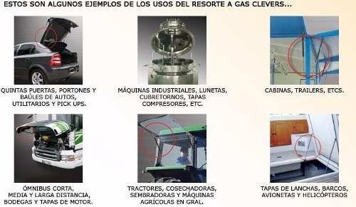 resorte neumático portón gol gl generación i 1992/1995