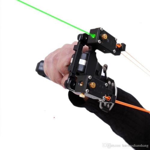 resortera táctica de alta velocidad láser doble