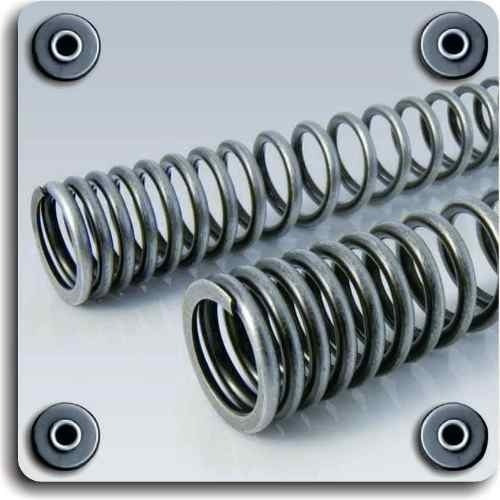 resortes horquilla suspension yamaha t110 crypton 04-10 x2u