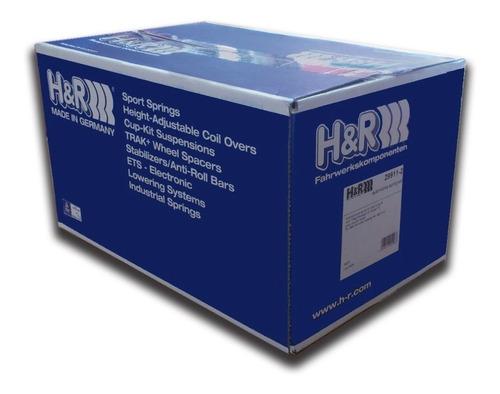 resortes h&r deportivos progresivos peugeot 206 incl. cc