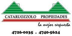 Logo de  Cataruozzolo Propiedades
