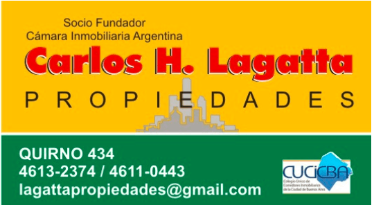 Logo de  Lagatta Propiedades