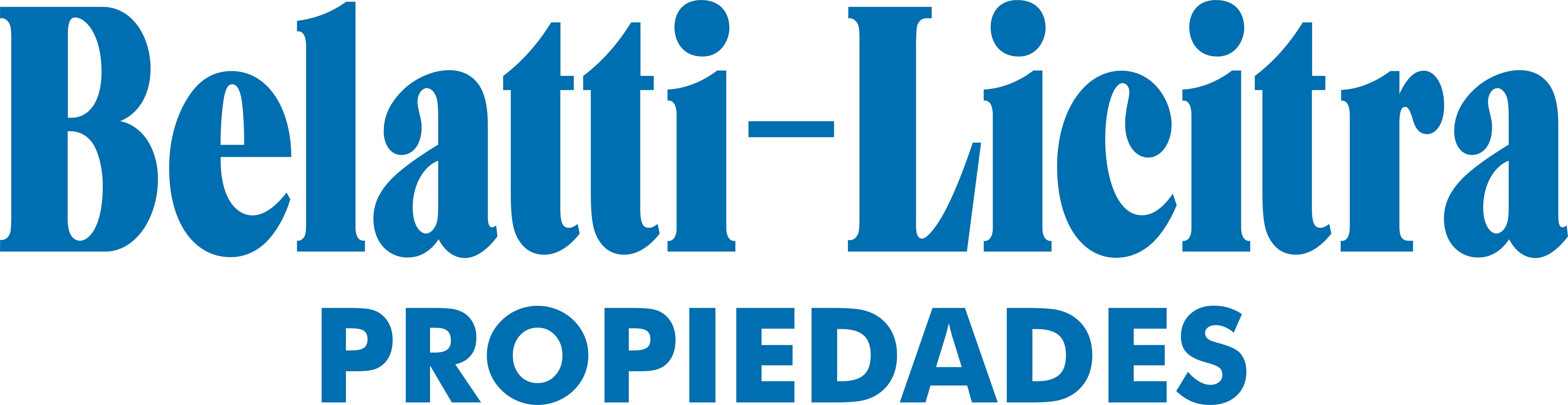 Logo de  Belatti - Licitra Propiedades