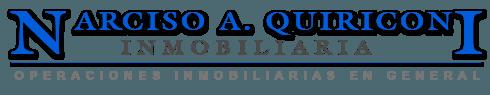 Logo de  Narciso A. Quiriconi Inmobiliaria