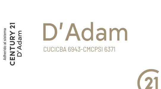 Logo de  Century 21 D'adam