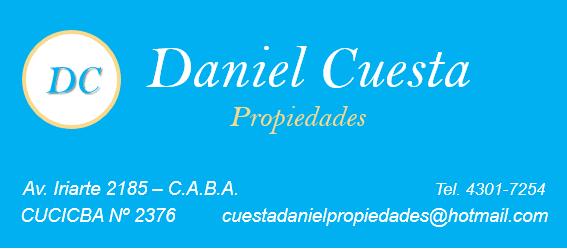 Logo de  Danielcuestapropiedades