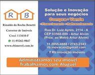 Logotipo de  Rinaldo Da Rocha Benetti - Creci: 113410 - F