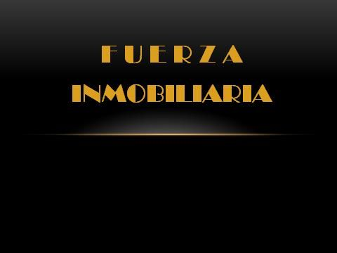 Logo de  Fuerzainmobiliaria