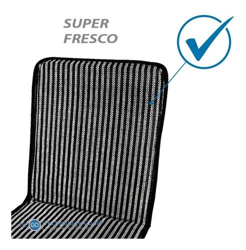 respaldar de auto asiento antitranspirante malla negro fresc