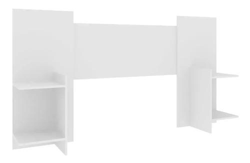 respaldo cabecera de sommier con estantes