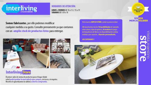 respaldo cama capitoné 2 plazas tapizados premium