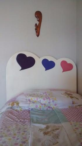 respaldo cama infantil