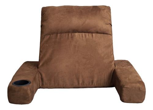 respaldo confort clinic-cut con porta vasos backrest cojin