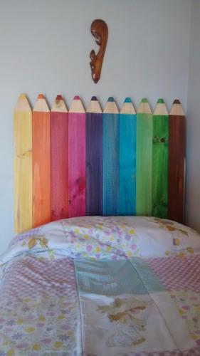 respaldo de cama infantil