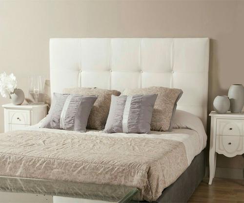 Respaldo de cama king personalizado en mercado for Cuanto cuesta una cama king size