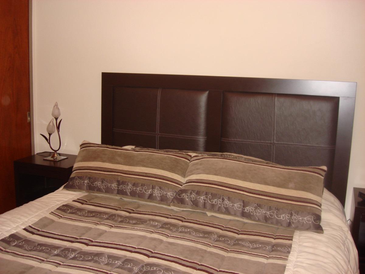 Respaldo Para Sommier/cama Con Marco Y Tapizado En Ecocuero ...