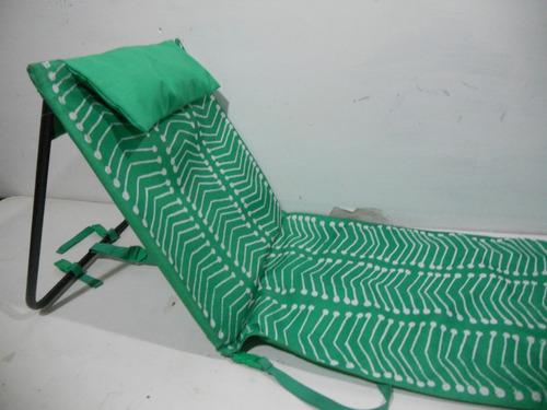 respaldo plegable asiento para la arena tomar el sol   #a591