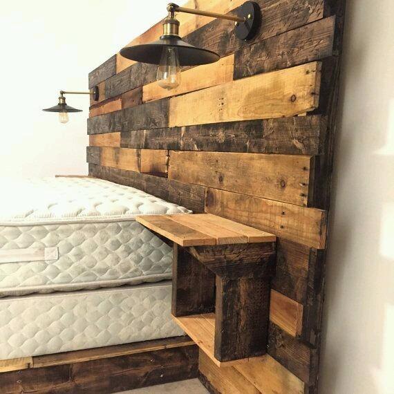 Barn Wood Wall Lamp