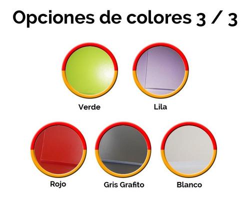 respaldo sommier c/mesas luz rsm3 blanco y negro. promo!!!