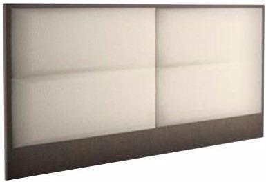 respaldo tapizado 2 plazas  dmr2 kromo-s