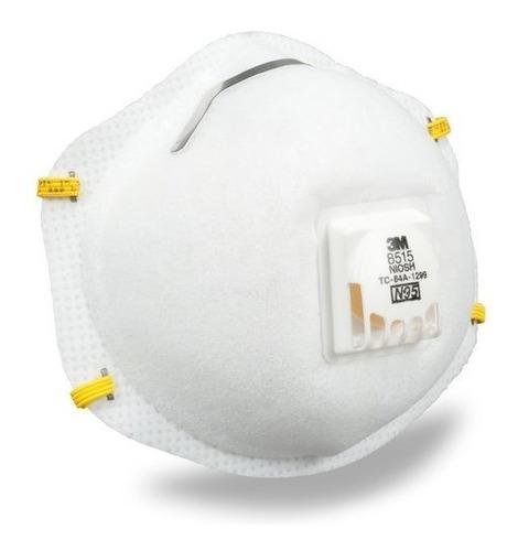 respirador 8515 n95 niosh de 3m para quimicos y soldadura