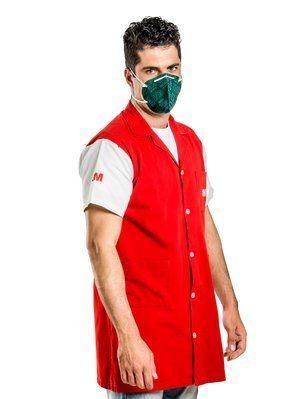 respirador 9810 3m pff-1 mascara semifacial c/ 30 unidades