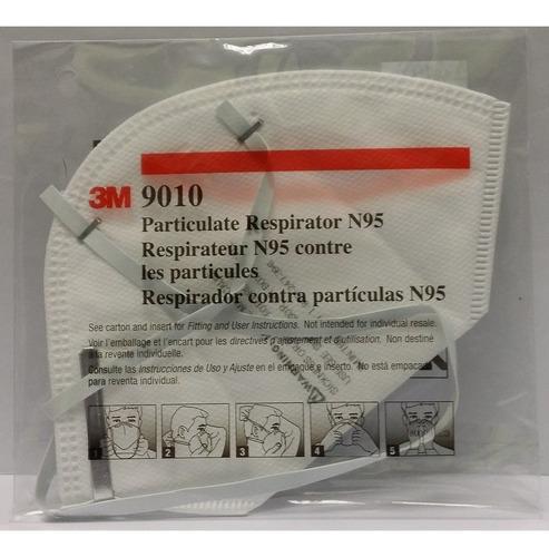 respirador contra particulas n95 9010 3m niosh 42.cfr.84.