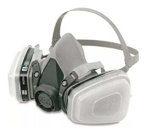 respirador mascara 3m 6200 para pintura completa 5n11 + rete