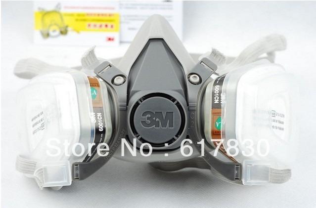 138c54d7f13c4 Respirador Mascara Semi Facial 3m 6200 Epi Pintura Completa - R  175 ...