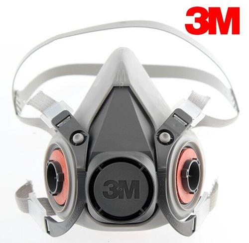 respirador media cara 3m mod. 6100