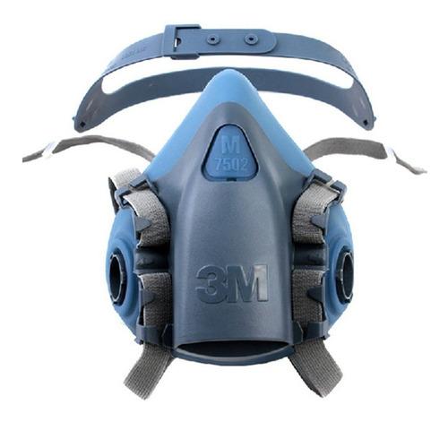 respirador media cara 7502 3m sin filtros envio gratis