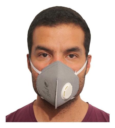 respirador n95 carbón activado con válvula x 5 unidades