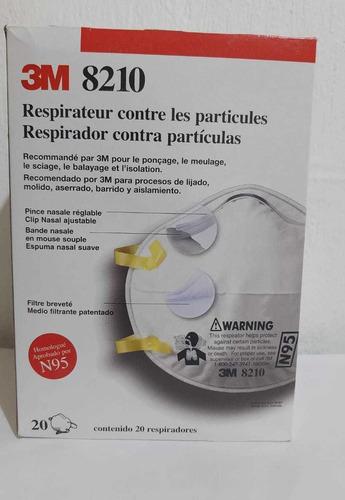 respirador n95 mod. 8210 3m