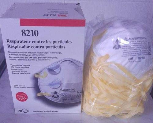 respirador para partículas n95 modelo 8210