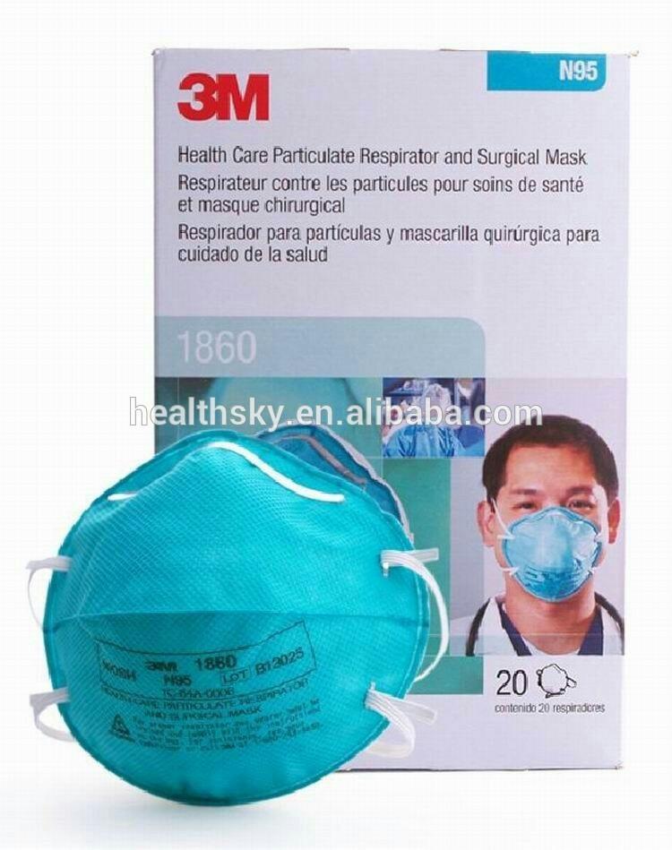 De Desechable N95 Respirador 3m 1860 salud