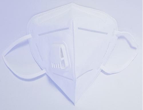 respirador tapabocas con válvula de exhalación sanshan n95