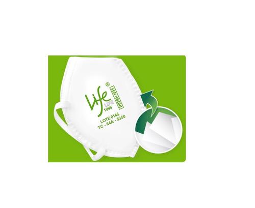 respirador tapabocas life blancon95 certificado niosh x25und