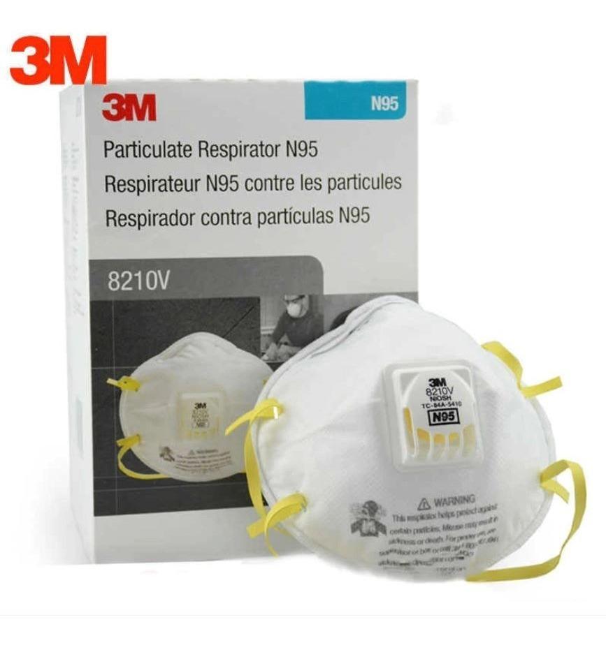 Respirador/mascarilla/cubrebocas N95 3m 8210v 10 Pieza ...