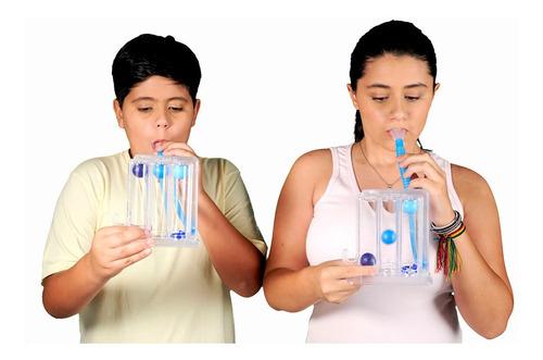 respiron - kit com 24 aparelhos - incentivador respiratório