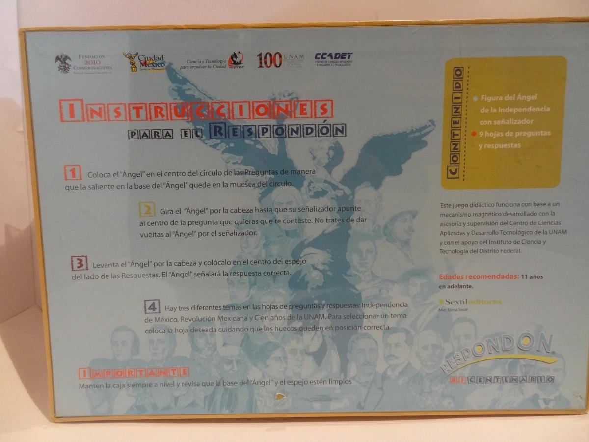 Respondon Bicentenario Juego De Mesa Didactico 1 100 00 En