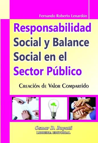 responsabilidad social y balance social en el sector público